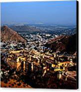 Amber Palace - Jaipur- Rajasthan- Viator's Agonism Canvas Print