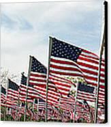 America Salute Canvas Print