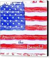 America The Beautiful Canvas Print by Robert ONeil