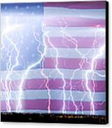 America The Powerful Canvas Print by James BO  Insogna