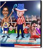 America Wins Canvas Print by Fred Makubuya