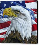 American Eagle Canvas Print by Sarah Batalka