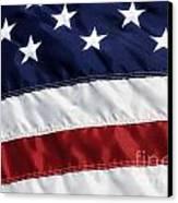 American Flag Canvas Print by Jill Lang