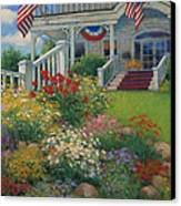 American Garden Canvas Print by Sharon Will