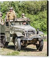 American Half Track Canvas Print by Trevor Wintle
