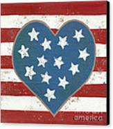 American Love Canvas Print by Kristi L Randall
