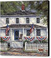 American Roots Canvas Print