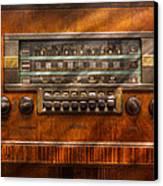 Americana - Radio - Remember What Radio Was Like Canvas Print by Mike Savad