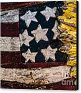Americana - Stars And Stripes Canvas Print by Dean Harte