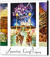 America's Great Venues Canvas Print