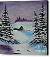 Amethyst Evening After Ross Canvas Print by Barbara Griffin
