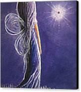 Amethyst Fairy By Shawna Erback Canvas Print