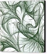 Amidst The Chaos Canvas Print