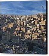 Amman Down Town Canvas Print