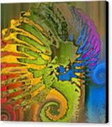 Ammonite 2 Canvas Print by Soumya Bouchachi