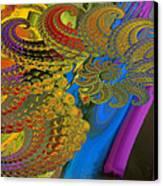 Ammonite 4 Canvas Print by Soumya Bouchachi
