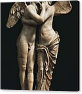 Amor And Psyche. 1st C. Hellenistic Canvas Print