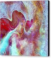 An Angels Love Canvas Print by Linda Sannuti