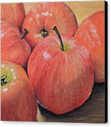 An Apple A Day Canvas Print by Joanne Grant