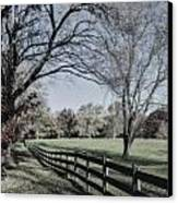 An Autumn Stroll Canvas Print by Joe McCormack Jr