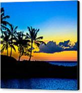 An Evening At Ko Olina Canvas Print by Lisa Cortez
