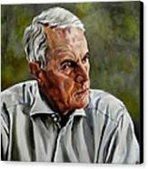 An Interesting Man - Viktor Hesse Canvas Print by Jolante Hesse
