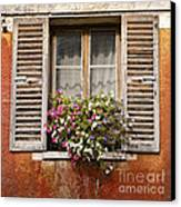 An Old French Window Canvas Print