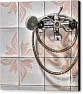 An Old Shower Canvas Print by Sinisa Botas