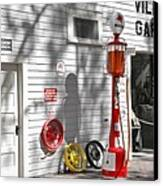 An Old Village Gas Station Canvas Print
