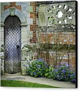Ancient Door Canvas Print by Lesley Rigg