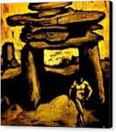 Ancient Grunge Canvas Print by John Malone