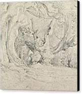 Ancient Trees Lullingstone Park Canvas Print