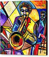 And Then There Was Da Blues Canvas Print by Everett Spruill