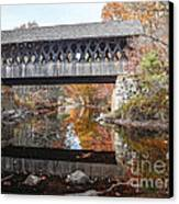 Andover Covered Bridge Canvas Print