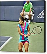 Andrea Petkovic Canvas Print by Rexford L Powell