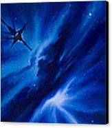 Andreas Nebula Canvas Print by James Christopher Hill