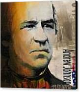 Andrew Johnson Canvas Print