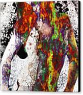 Angel Of Debris Canvas Print