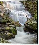 Angels At Benton Waterfall Canvas Print by Debra and Dave Vanderlaan