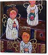 Angels Canvas Print by Linda Vaughon