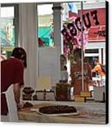 Anna's Fudge Shop Canvas Print