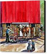 Another Way Of Life Canvas Print by Marilyn Smith
