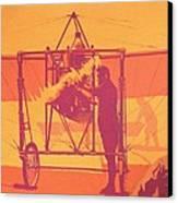 Antique Bleriot Airplane  Canvas Print