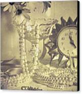 Antique Dressing Table Canvas Print