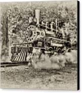 Antique Train Canvas Print