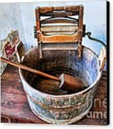Antique Washing Machine Canvas Print by Paul Ward