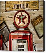 Antiques And Junque Canvas Print