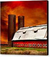 Apocalypse At Rolling Fork Canvas Print by T Lowry Wilson