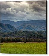 Appalachian Mountain Range Gsmnp Canvas Print by Paul Herrmann