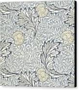Apple Design 1877 Canvas Print by William Morris